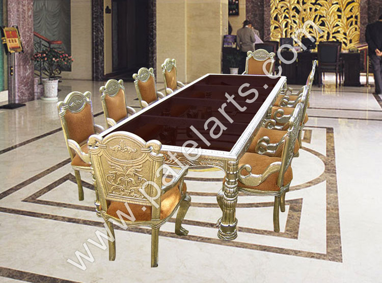 Silver Dining Set Table Sets Manufacturers India Antique