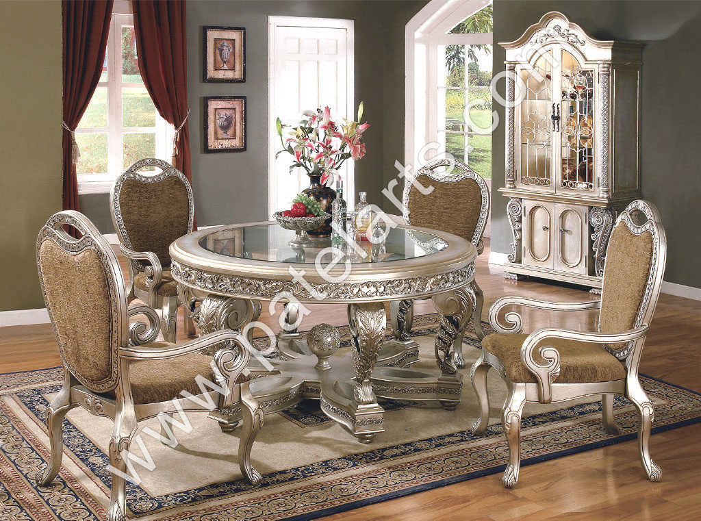 Silver Dining Set, Dining Table, Silver Dining Sets, Manufacturers, India,  Antique