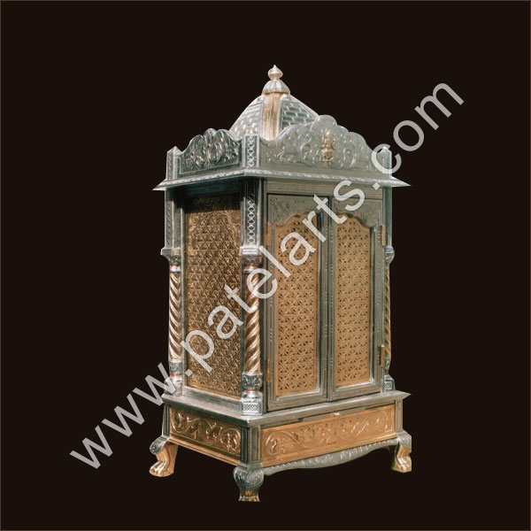 Silver Temple White Metal Temple Silver Carved Temples  : silver metal temple 26 from www.wooden-handicrafts.co.in size 600 x 600 jpeg 54kB