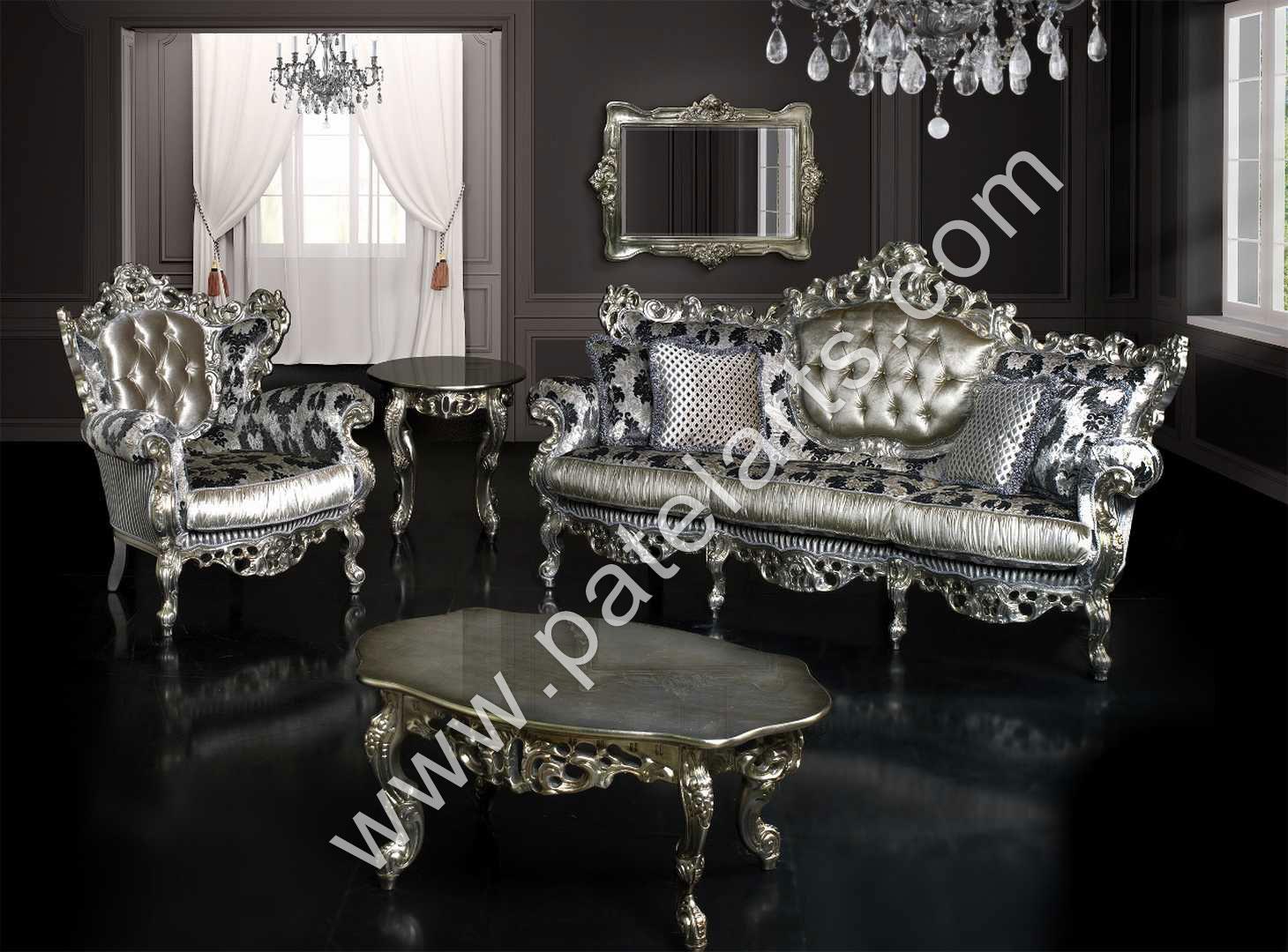 Silver Sofa Set Silver Sofa Set Silver Royal Silver Sofa Set Victorian Silver