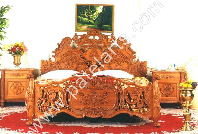 ... traditional Indian Beds, decorative Carved Beds, Designer Wooden Beds,  Exporters, India ...