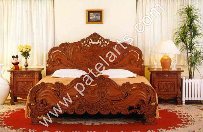 Wooden Bed Beds Carved Wooden Beds Designer Wooden Beds Designer
