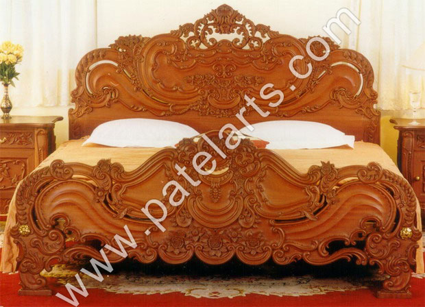 Designer Wooden Beds, Designer Bedroom Furniture, Wooden Bed, Beds, Carved  Wooden Beds