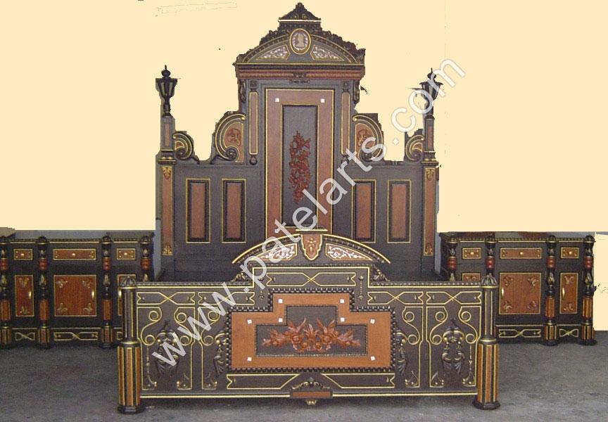 Designer Wooden Beds, Designer Bedroom Furniture, Wooden Bed, Beds, Carved  Wooden Beds