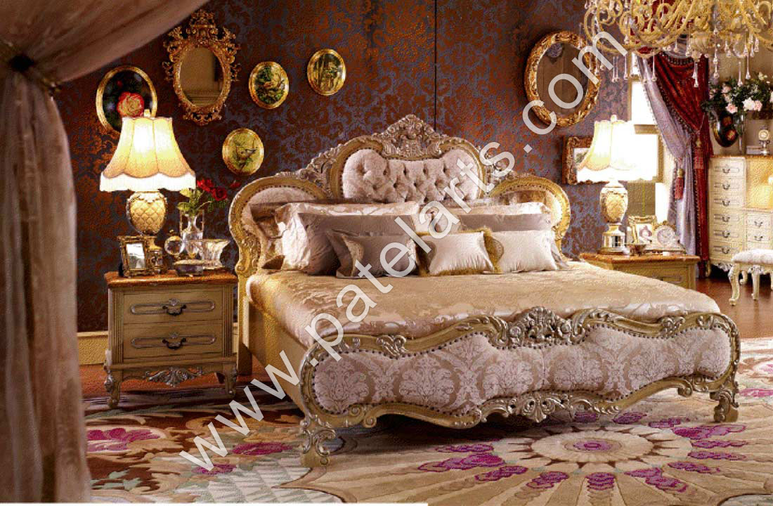 Indian bed furniture design - Indian Carved Bedroom Furniture Modrox Wooden Bed Beds Carved Designer
