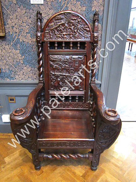 Wooden Carved Chairs, Wooden Chairs, India, Carved Wood Chairs, Traditional  Indian Chair