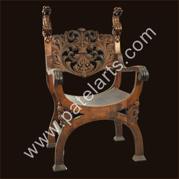Wooden Carved ChairsWooden ChairsCarved Wood Chairs  : wooden chair 17 from www.wooden-handicrafts.co.in size 600 x 600 jpeg 52kB