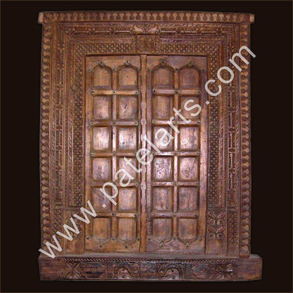Wood carved doors wooden door