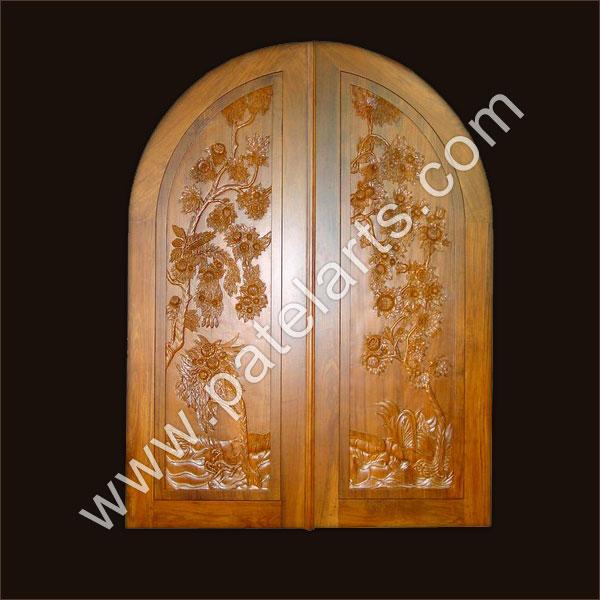 Designer Arched Wooden Door At Best Price In India Wooden Door