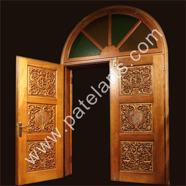 Carved Doors, Carved Wooden Doors, Antique Carved Doors, Wood Carved ...