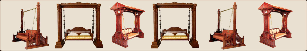 Rajasthani Colorful Swings Wooden Handicrafts