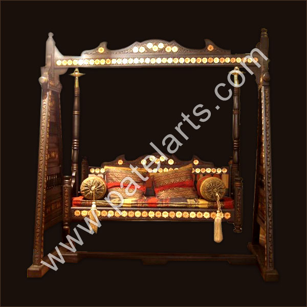 Indoor swings manufacturers drawing room swings terrace for Terrace jhula