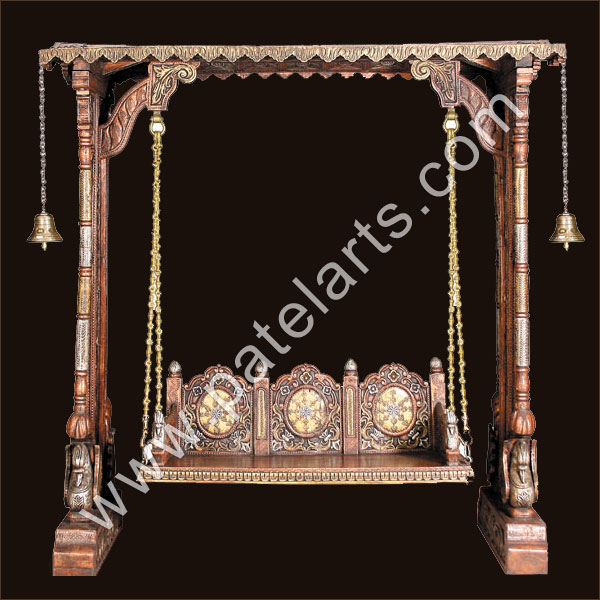 Indian Wooden Swings Rajasthan Rajasthani Colorful