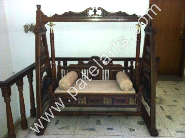 Decorative swing manufacturers india decorative carved for Garden jhoola designs