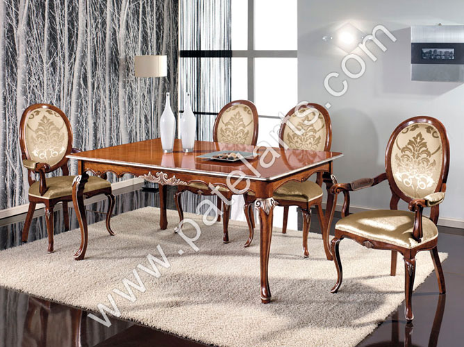 Wooden Dining Tables, Carved Dining Sets, Dining Table Sets, India, Carved  Wood