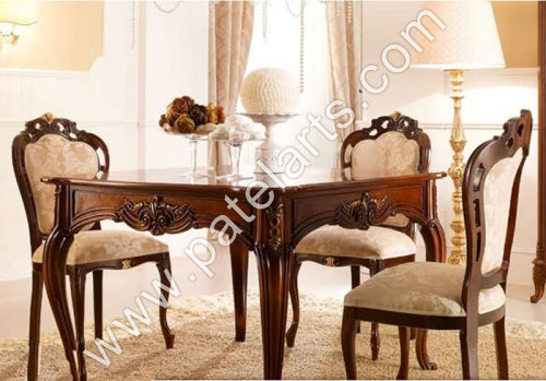 indian carved dining table. wooden dining tables, carved sets, table india, wood indian i
