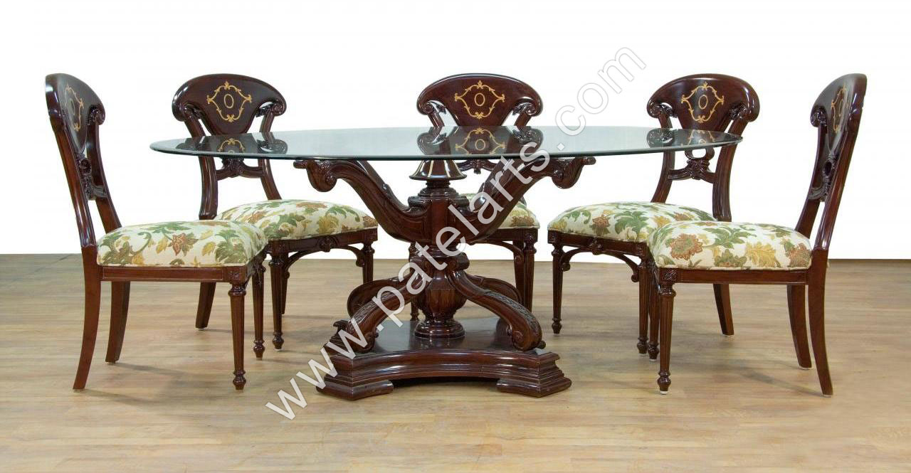 wooden dining set wooden carved dining table Wooden  : dining table 44 from www.wooden-handicrafts.co.in size 1280 x 665 jpeg 139kB