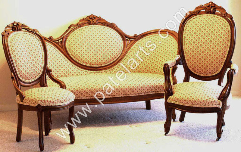 Wooden Sofa Sets Indian Carved Carving India