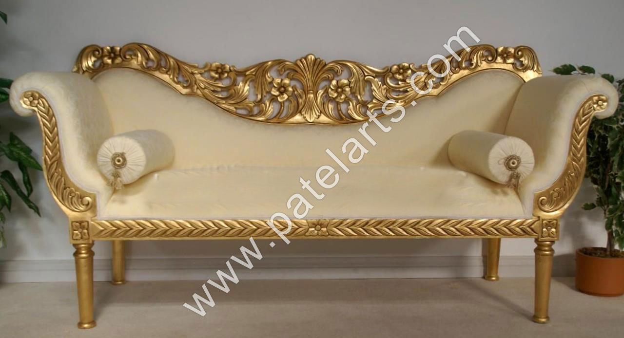 Superior Wooden Sofa Sets, Indian Carved Sofa Sets, Carving Wooden Sofa, India,  Wooden