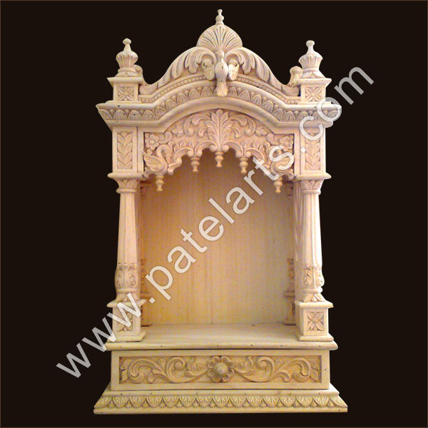 Buy Beautiful Wooden Temple with Doors Exporter  : wooden temple 12 from www.wooden-handicrafts.co.in size 600 x 600 jpeg 64kB
