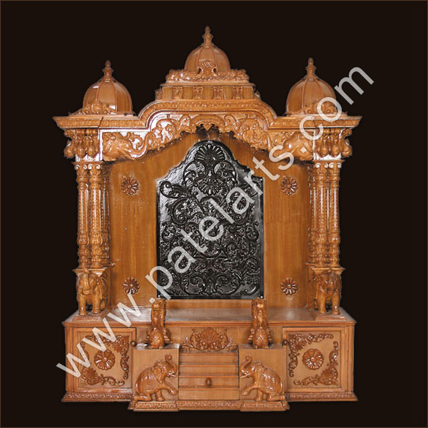 Design Of Wooden Home Temple
